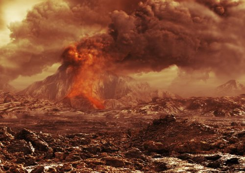 Title Volcanic activity on Venus?
