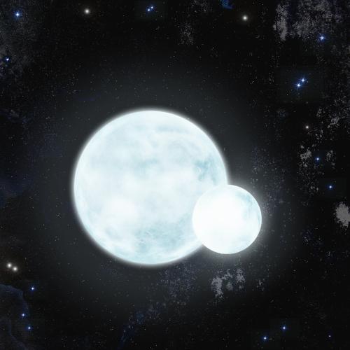 Simulación del sistema eclipsante J0247-25./ Keele University